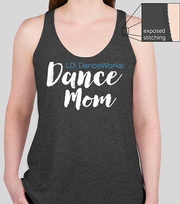 Dance Mom Flowy Racerback Tank