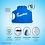 Thumbnail: Caixa D'Água 500 Litros Azul Com Tampa Rosca Acqualimp