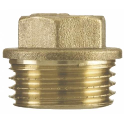 Plug roscavel 1/2 bronze