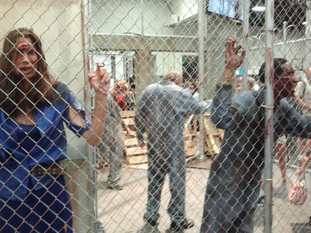 The Walking Dead exhibition at Comicon #SDCC