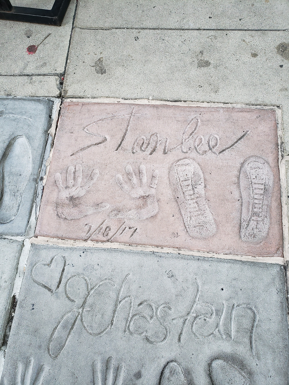 Stan Lee Manns Chinese Theater
