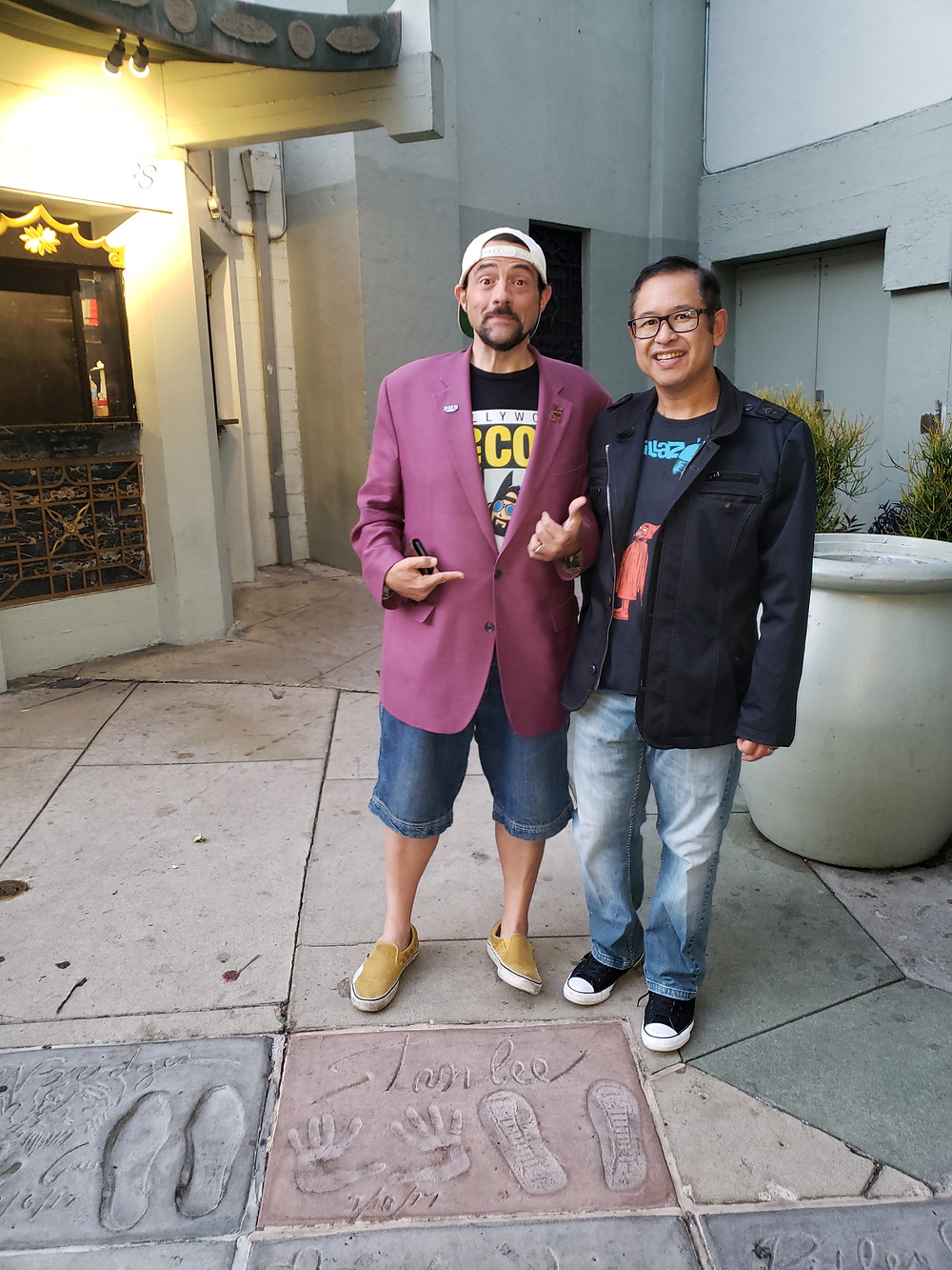 Kevin Smith Chinese Theater me