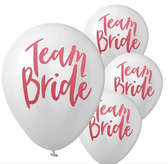 Team Brideバルーン(5個入)
