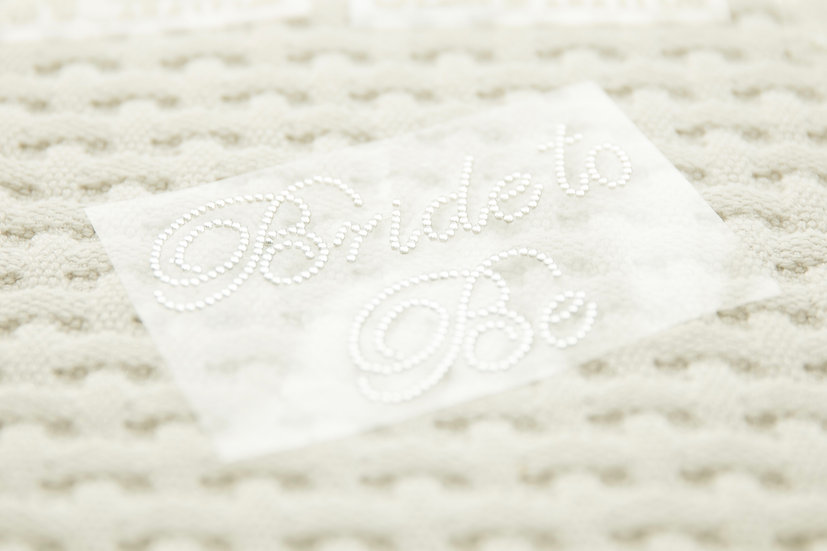 shoes sticker (Bride to be)
