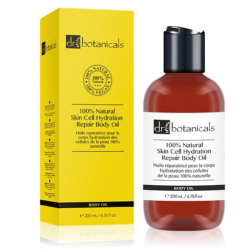 100% Natural Skin Cell Hydration Repair Body Oil