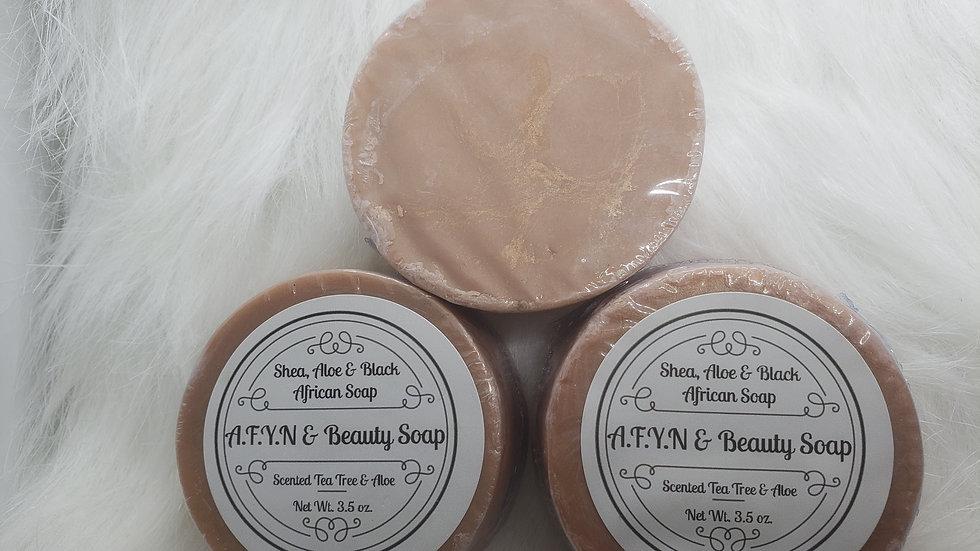 Shea, Aloe& Black African Soap