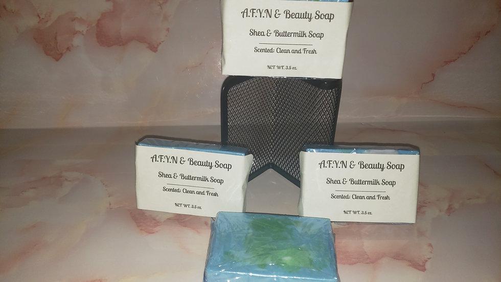 Shea & Buttermilk Soap