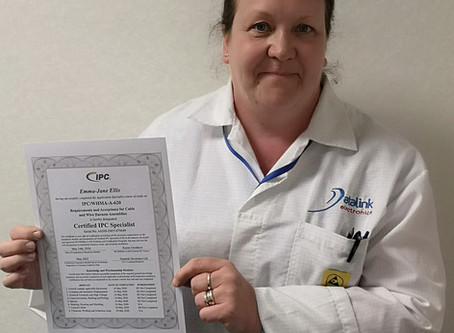 New IPC 620 Certification for Emma