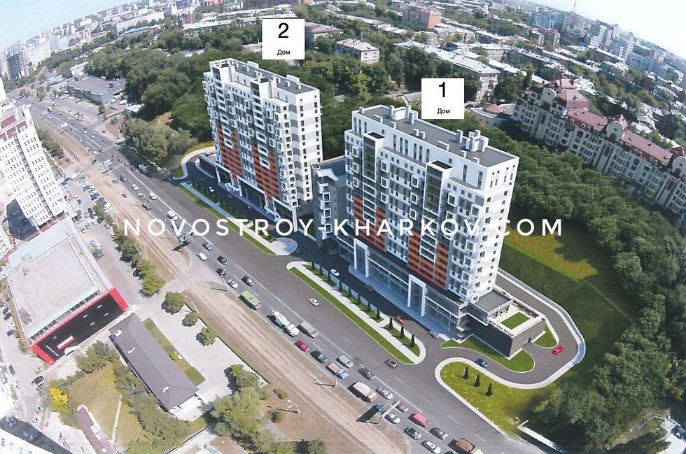 ЖК Овис по ул. Клочковская 98 в Харькове от Жилстрой-1