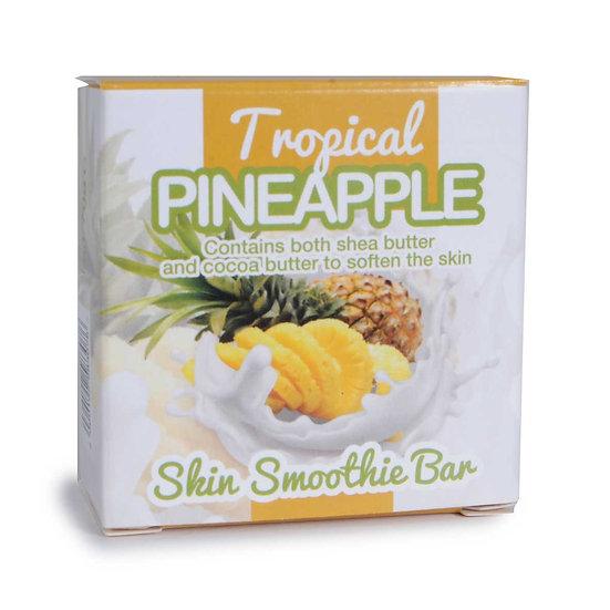 Tropical Pineapple Skin Smoothie Bar