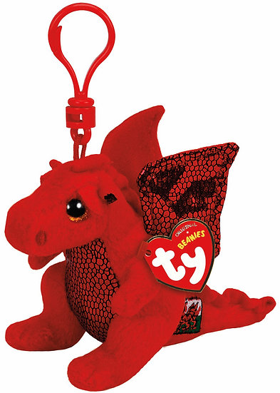 Y Ddraig Goch ( The red dragon ) Bag Clip.