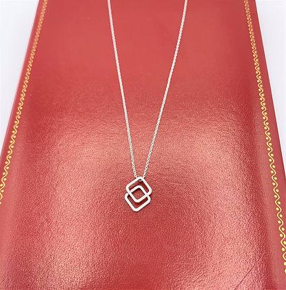 Double Diamond Pendant