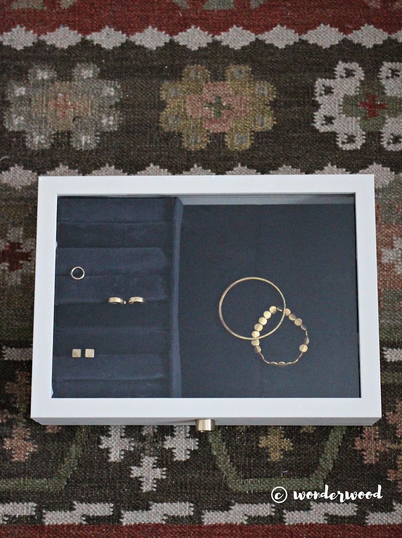 Diy Smykkeskrin Ikea Hack Diy Jewelry Box Ikea Hack