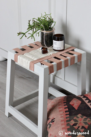 upcycle krakk // upcycled foot stool