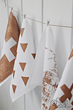printed fabric napkins