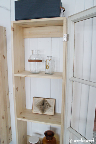 diy skap av gamle vinduer // diy old window cabinets