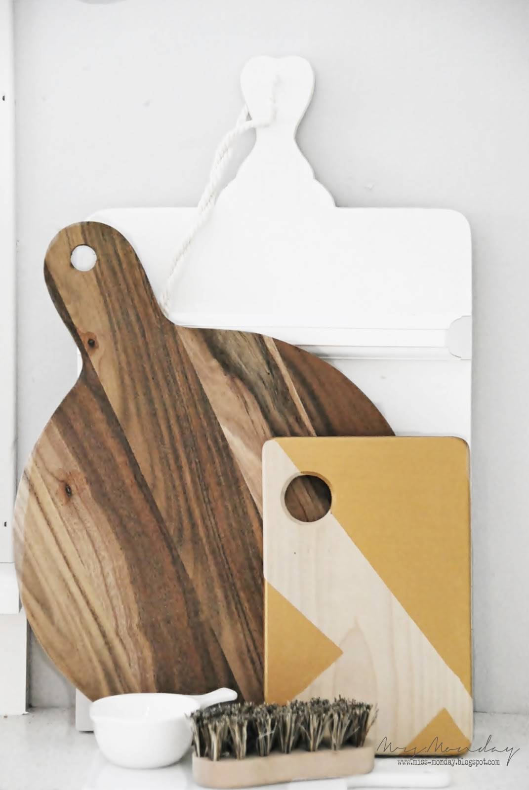 geometric cutting board