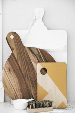 geometric cutting board