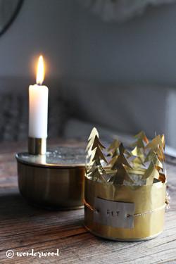 candle holder hack
