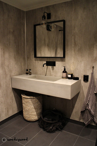 nytt bad // new bathroom