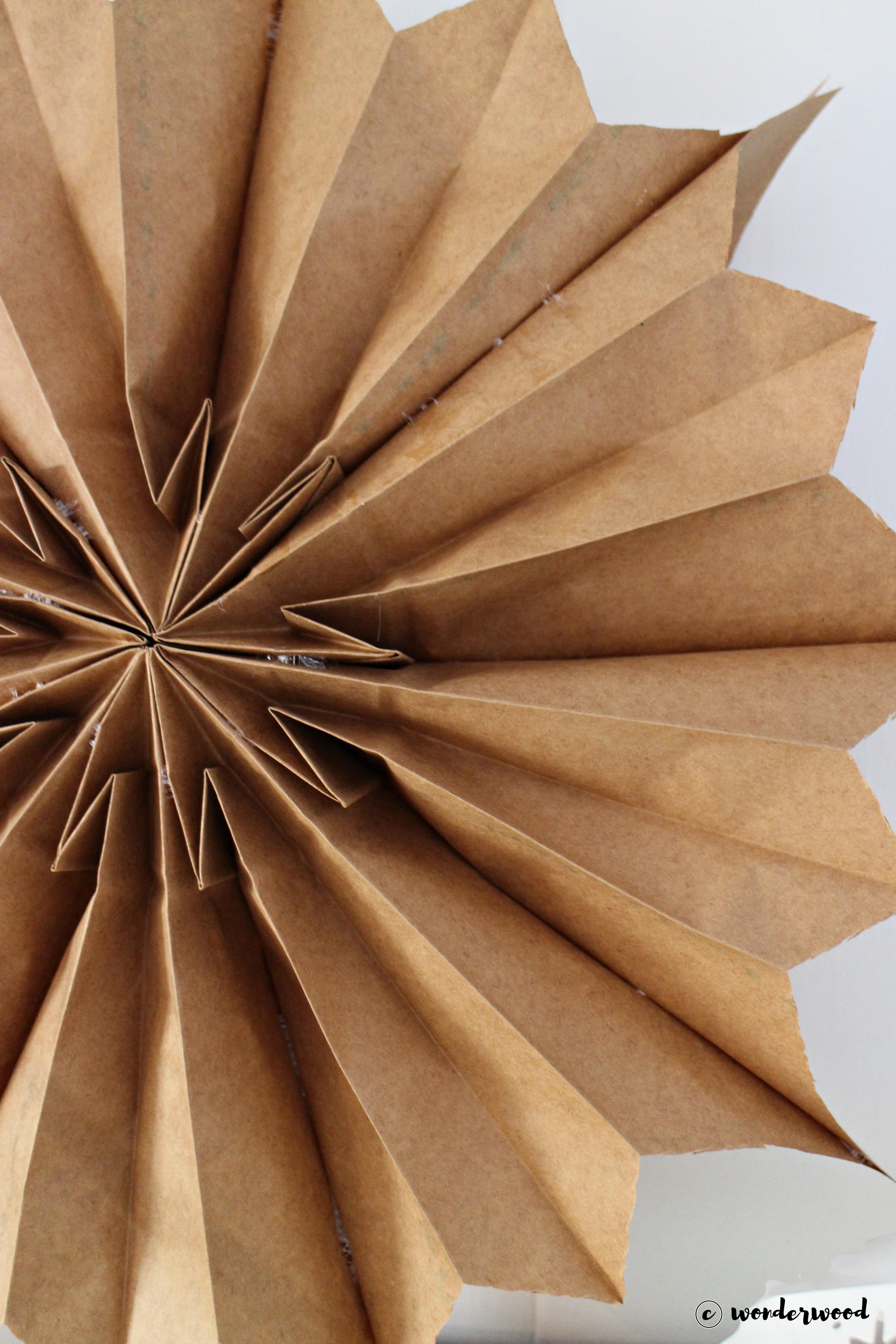paper bag star