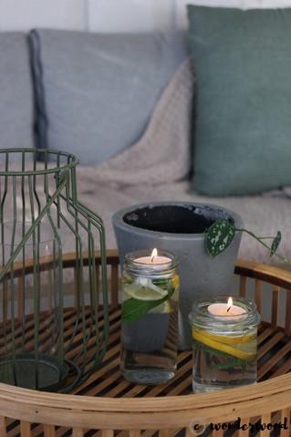 diy mygglys // diy mosquito repellent candles