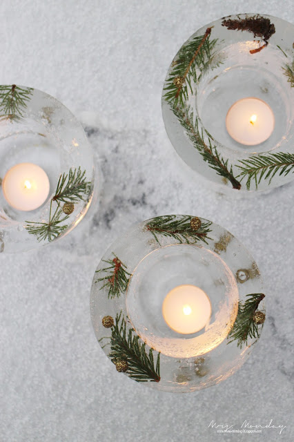 decorative ice lanterns