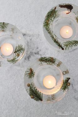 decorative ice lanterns