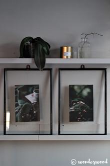 rammer fra bruktbutikken // thrift find frames