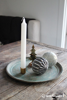 diy lysfat // diy candle tray
