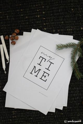 TIPS TIL HJEMMELAGDE JULEGAVER 9: FREEBIE Evighetskalender // HOMEMADE CHRISTMAS GIFT IDEA 9: FREEBI