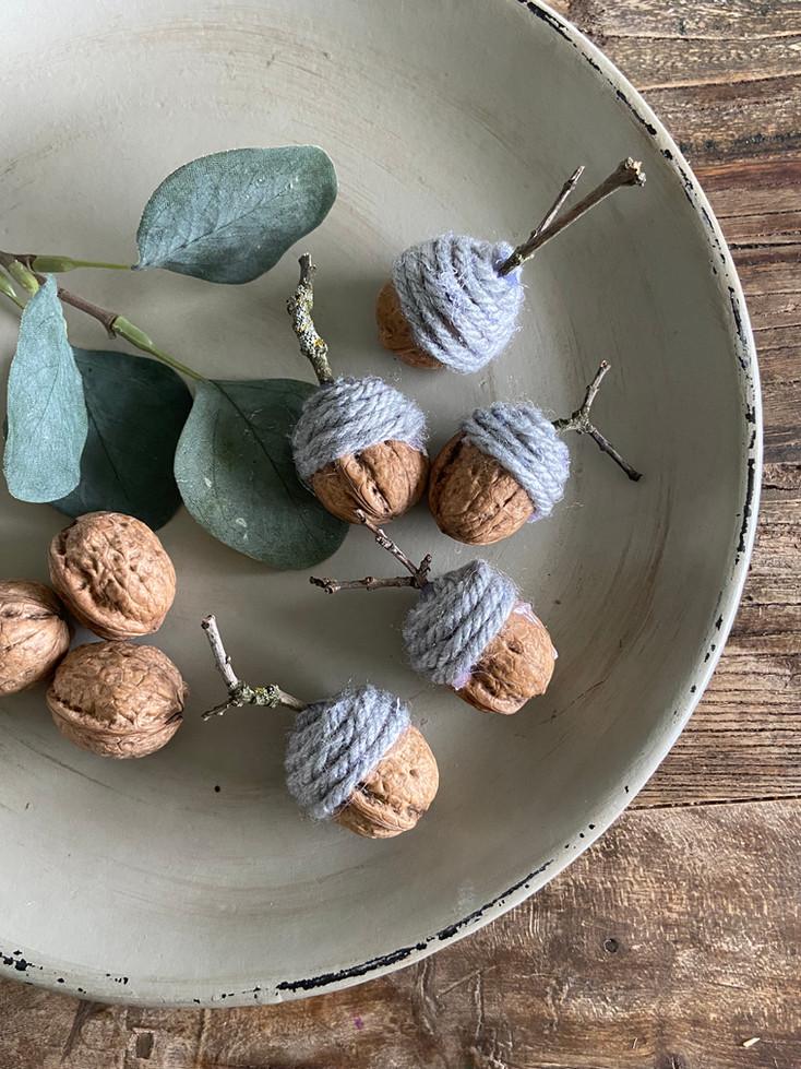 diy eikenøtter // diy crafted acorns