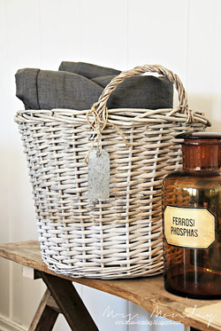 upcycled basket