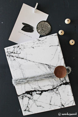 marble envelope folder
