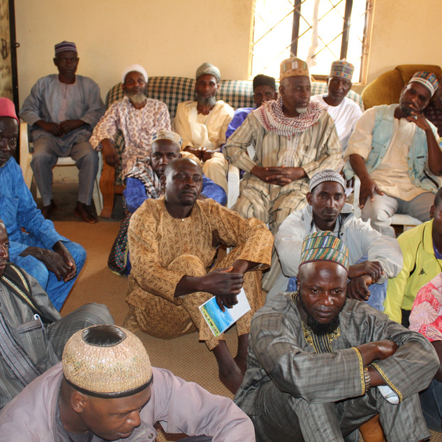 Herders and Farmers dialogue in Bokkos L