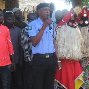 Representative of the Nigeria Police at
