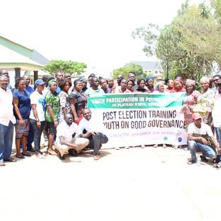 Post Election Training on Good Governanc