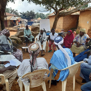 Herder and Farmers dialogue in Bokkos LG