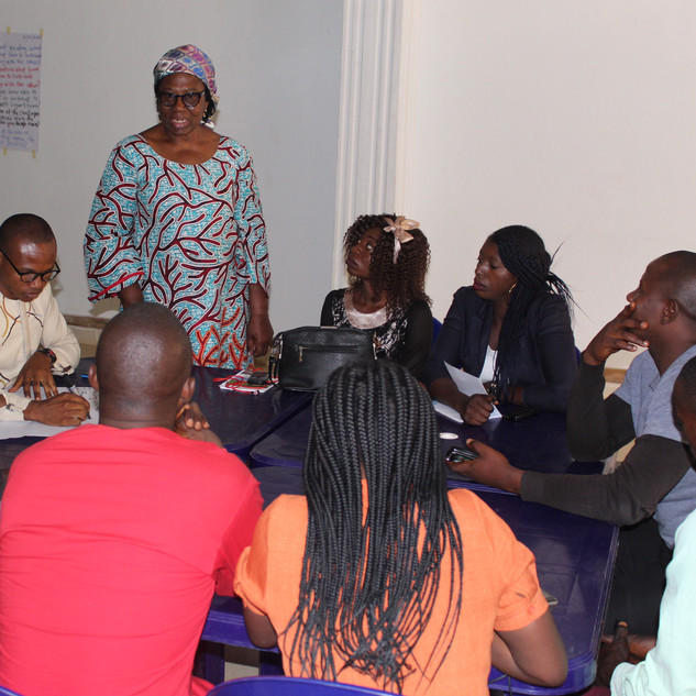 Conflict Analysis with Youth from Bassa