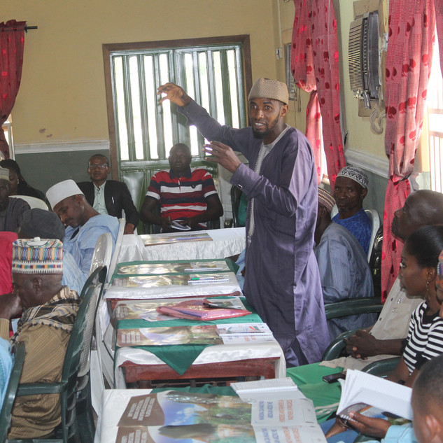 Herders and Farmers Dialogue in Bassa LG