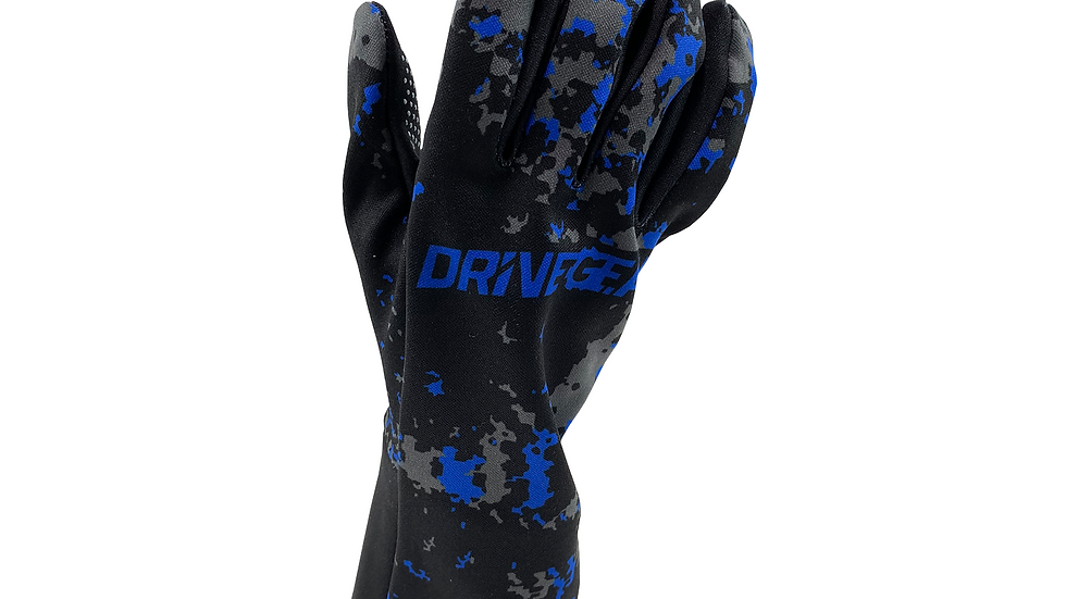 Drive Gear Blue Camo Racing Glove