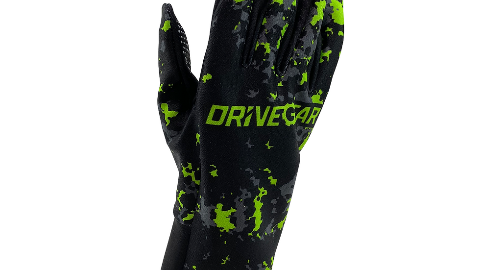 Drive Gear Green Camo Racing Glove