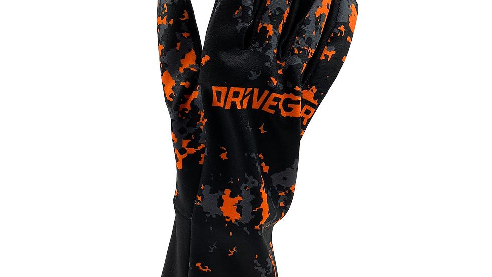 Drive Gear Orange Camo Racing Glove