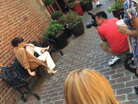 A #TBT OF SOME #BTS W/ CONTENT MAGAZINE - MODEL MONDAY