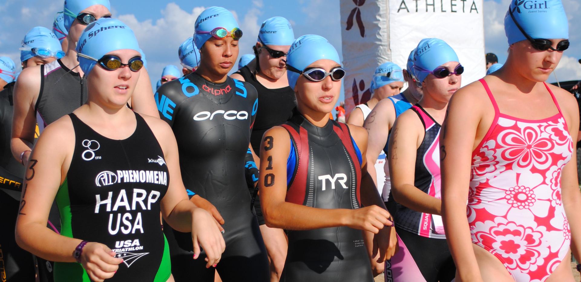 IronGirl Triathlon 2012- Boulder, CO