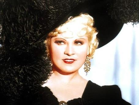"""Mae West: La primera """"bomba rubia"""" del espectáculo"""