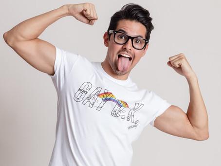 Quique Galdeano: Rostro y vocero LGBT+