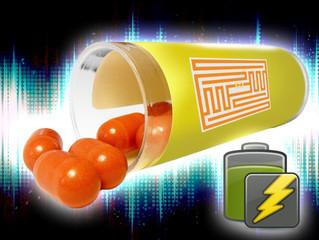 RFID sensors recharging themselves