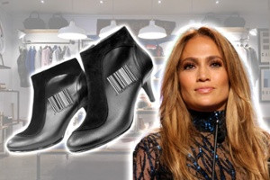 The barcode closet from Jennifer Lopez