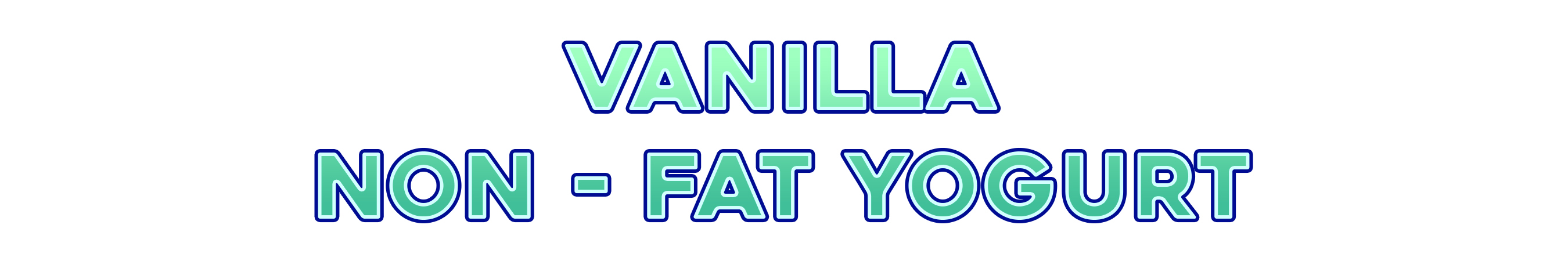 VanillaYogurt